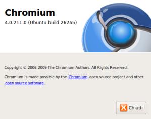 Schermata-About Chromium