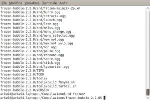 Schermata-arka94@arka94-laptop: ~-Compilazione-frozen-bubble-2.2.0